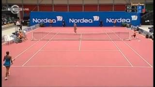 Caroline Wozniacki vs Stephanie Foretz 2008 Odense Highlights