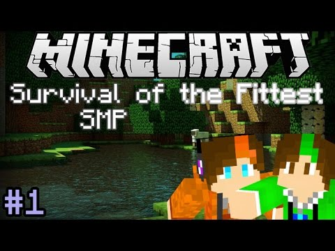 Minecraft: Survival of the Fittest SMP - Saving Bunnies! (S1E1) - w/ Brentonamore
