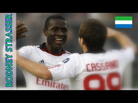 Rodney STRASSER • Goals & Actions • Milan and Lecce