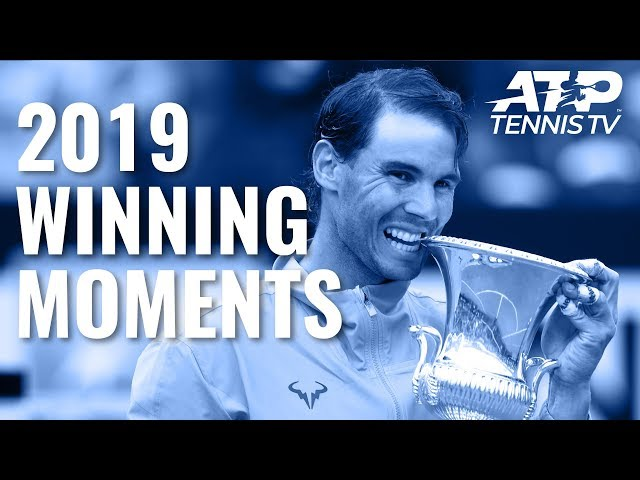 Every ATP Championship Point & Trophy Lift in 2019 🏆