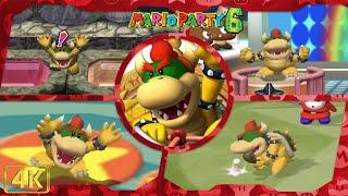 All Minigames (Koopa Kid gameplay)   Mario Party 6 ⁴ᴷ