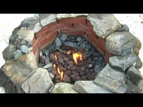 How NOT to Make a Gas Fire Pit From Scratch - YouTube