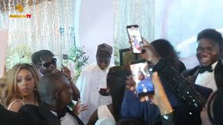 OLAMIDES EXCITING PERFORMANCE AT FARIDAH AND SANNIS WEDDING