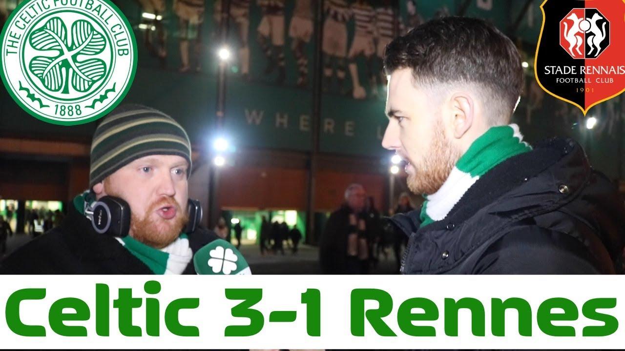 Celtic 3-1 Rennes | Full-Time Reaction - YouTube