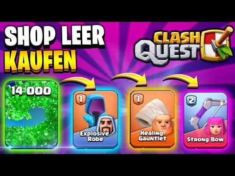 ALLES IM SHOP LEERKAUFEN 💰 | Clash Quest iOS Android Deutsch