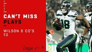 Russell Wilson & Co. Cap Off Opening Drive in London w/ TD!