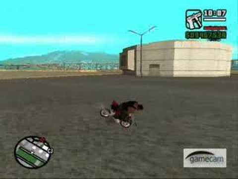 GTA San Andreas: Minibike - YouTube