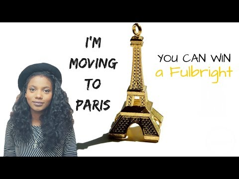 I'M MOVING TO PARIS! | FULBRIGHT GRANT INFO | SCHOLAR NOIRE