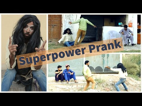 Superpower prank in public | funny pranks | Holo Creations