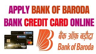 How to apply bank of baroda credit card | Apply bank of baroda credit card | apply BOB credit card