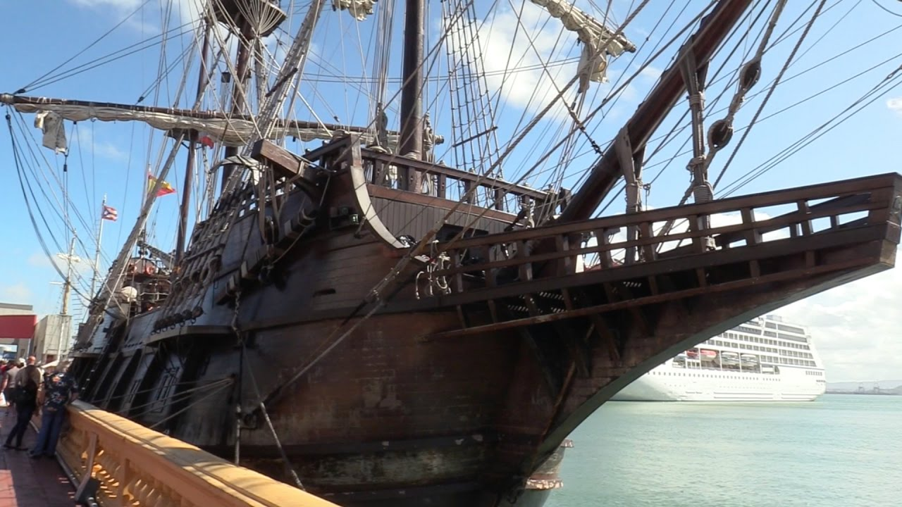 """EL GALEON ESPAÑOL"" REAL PIRATE SHIP IN THE CARIBBEAN ..."