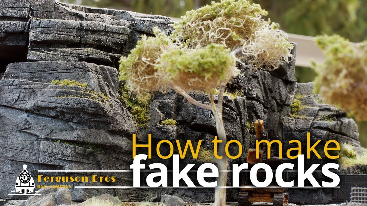 Realistic Lightweight Fake Rocks