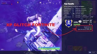 *FORTNITE XP GLITCH* How to LEVEL UP FAST in Season 8!!!