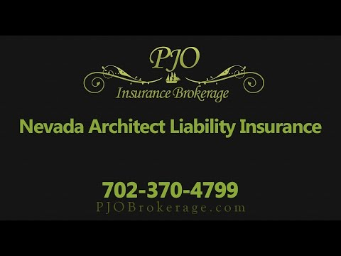 Nevada Architects Professional Liability Insurance Policy | PJO Insurance Brokerage