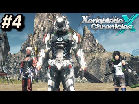 XENOBLADE CHRONICLES X (WiiU) - Episodio 4: Operación Rescate || Gameplay / Let´s Play en Español