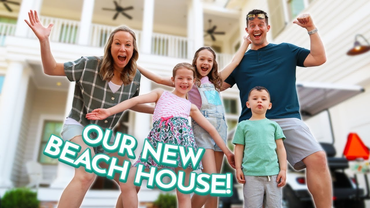 Our Vacation Beach House Tour Youtube