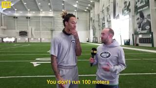 We spoke to NFL​ wide receiver Robby Anderson