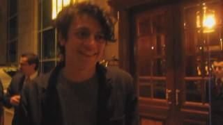 arin ilejay former drummer from avenged sevenfold a7x meeting fans in santiago chile 2011