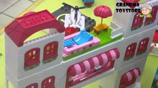 Unboxing TOYS Review/Demos - Megabloks Hello Kitty Big doll house