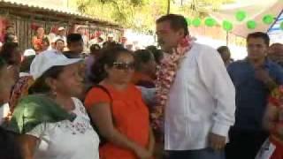 Eviel se Reúne con la gente de Zanatepec
