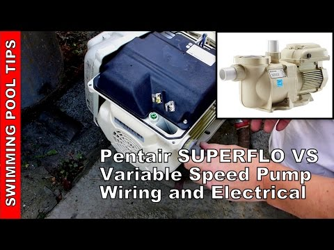 how to wire a pentair superflo� vs variable speed pump youtube Above Ground Pool Pump Diagram