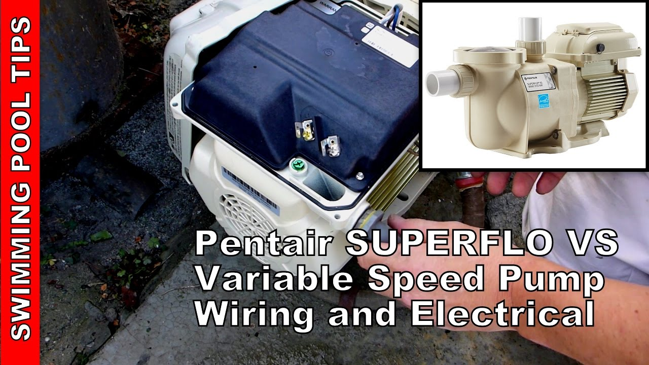 maxresdefault how to wire a pentair superflo� vs variable speed pump youtube Wiring-Diagram Pentair 340039 at crackthecode.co