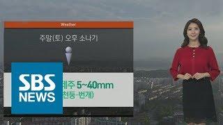 [날씨] 오늘도 폭염 절정…태풍