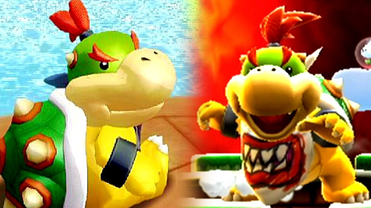 Super Mario Evolution Of Bowser Jr 2002 2017 Switch To Gcn