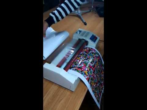 How to lamination custom mobile skins and laptop skins - A3 size