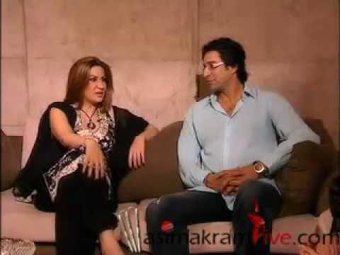 Wasim Akram Interview - Part 1 of 2 - YouTube  Wasim