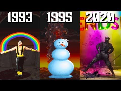 The Evolution Of Mortal Kombat Friendships! (1993-2020)