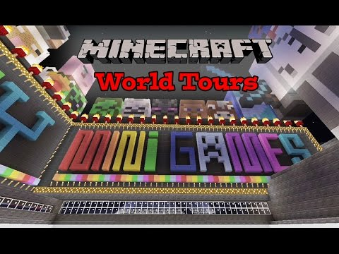 Minecraft Xbox - Insane Minigame Map - World Tours Ep.9