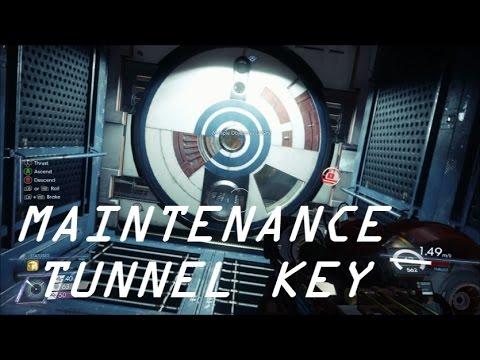 Prey - Maintenance Tunnel Key Location Guide (Getting to Arboretum)