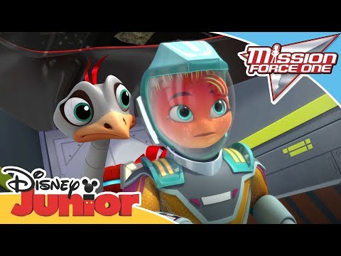 Mission Force One | Connect and Protect: Rarified Air | Disney Junior Arabia