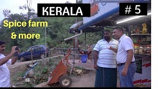 Munnar to Thekkady | Spice farm tour, Tapioca and more | Episode 5
