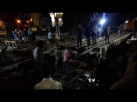 Railway track underpass construction Bangalore horamavu railway gate