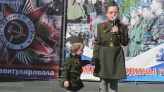 Акция 'Воинский подвиг глазами детей'