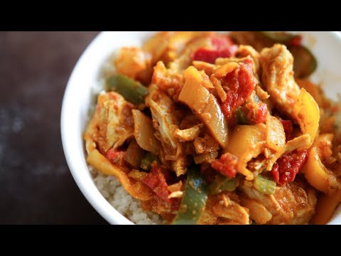 Easy Chicken Curry | Healthy Low Carb Dinner Recipes For Weight Loss