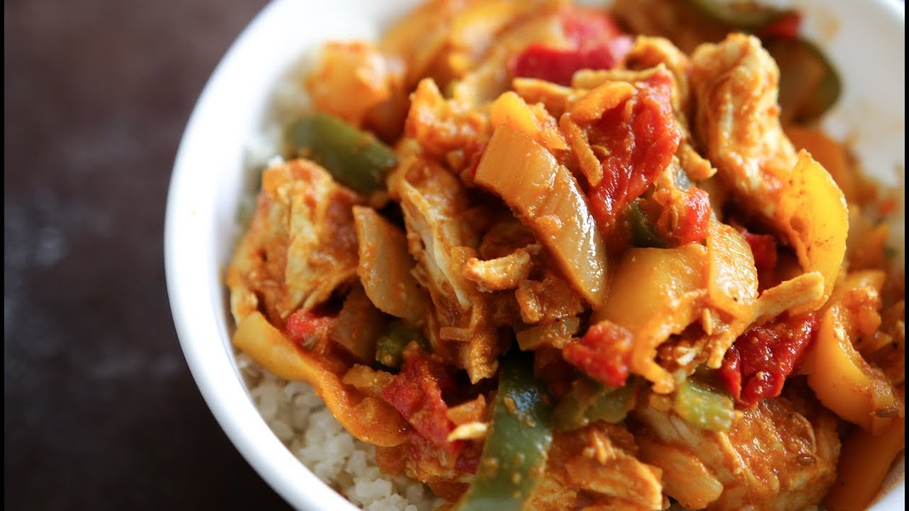 Easy Chicken Curry Healthy Low Carb Dinner Recipes For Weight Loss