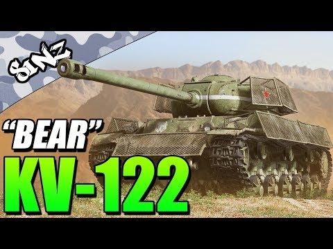 """BEAR"" KV-122 - World of Tanks Console | Tank Review thumbnail"