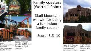 Cedar Point vs. Six Flags Great Adventure
