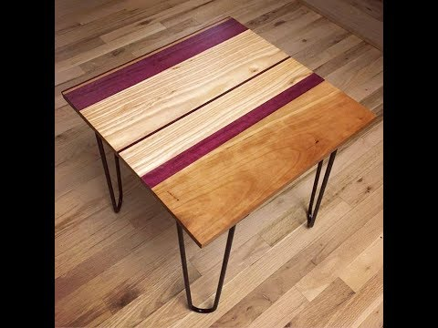 Beginner Woodworking Project – Small Table Build