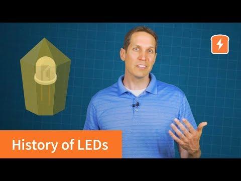 History of LED Lights (light emitting diodes) | Basic Electronics