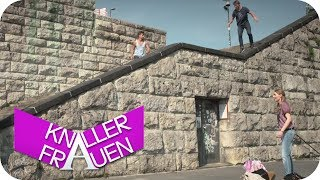Martina & der Parkour