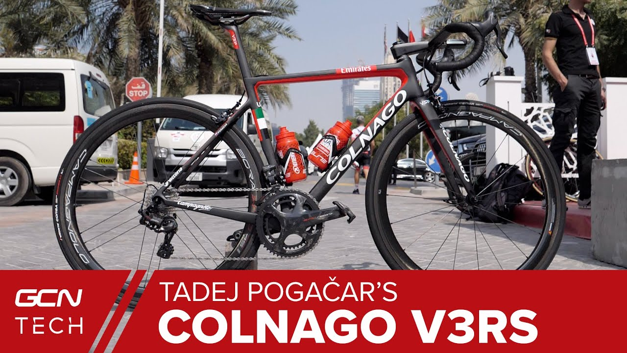 Tadej Pogacar S Colnago V3rs Pro Bike Slovenian Superstar S Italian Stallion Youtube