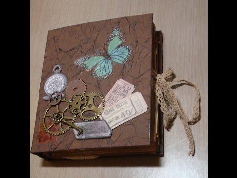 Flip Through an Antique Journal
