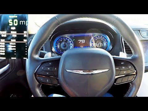 2019 Chrysler 300S 0-60 mph Test #2