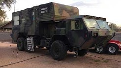The Dragon Wagon, an extreme RV, walk-around.