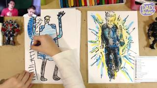 How to Draw Quicksilver | The Avengers