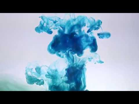 ABSTRACT PAINT IN WATER  For relaxation with nice visuals and peaceful music